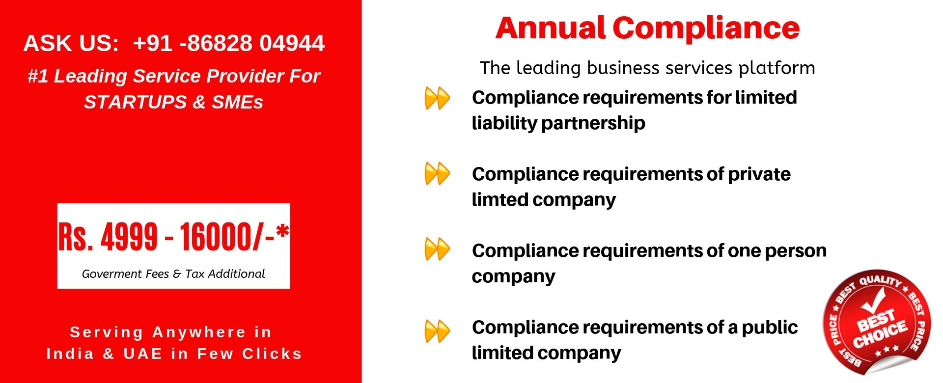 annual compliance in india