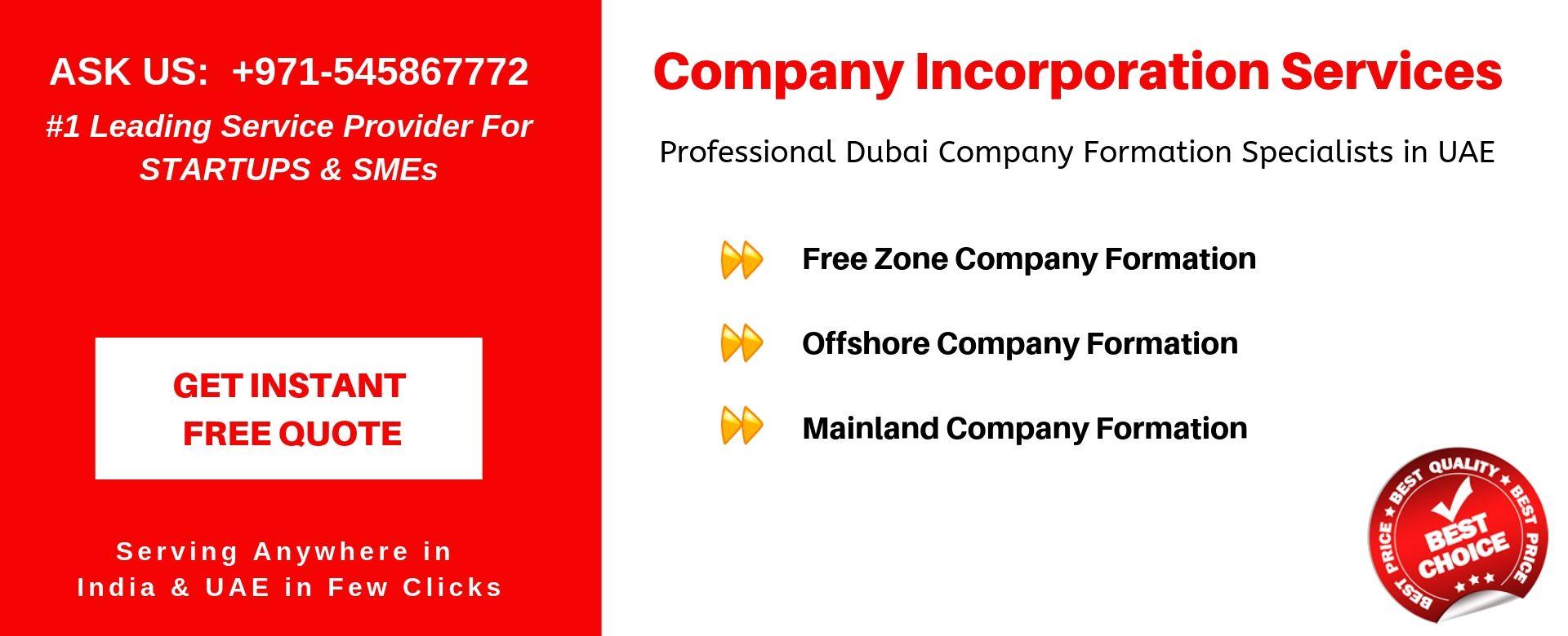 company incorporation in uae