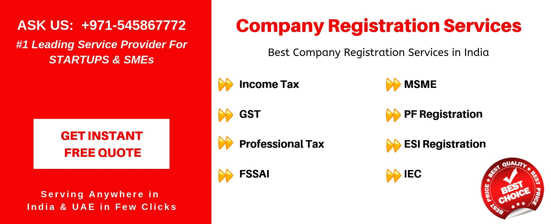company registration services in india