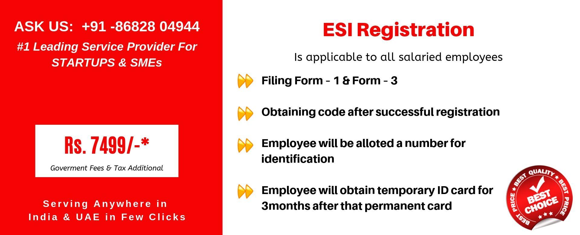 esi registration in india