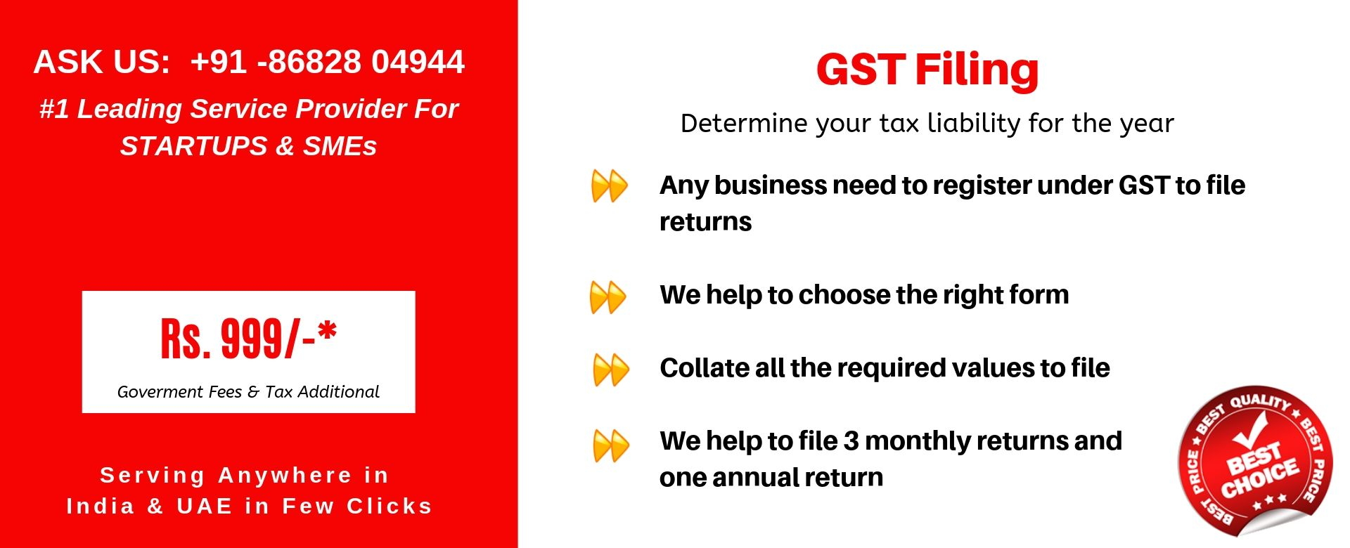 gst filing in india