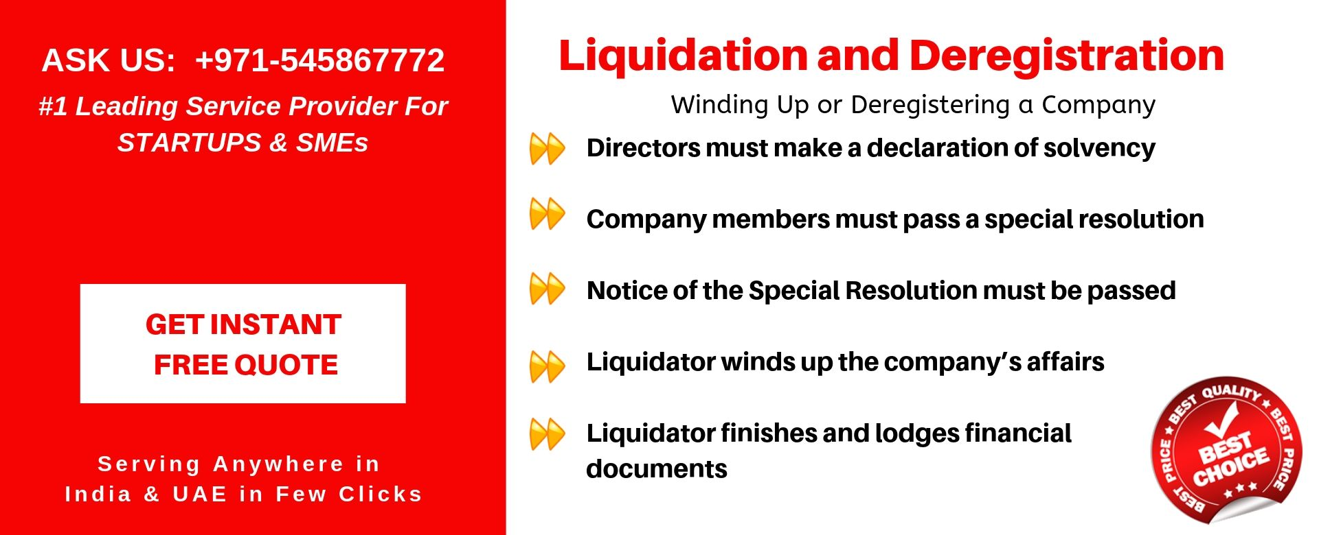 liquidation and deregistration in uae