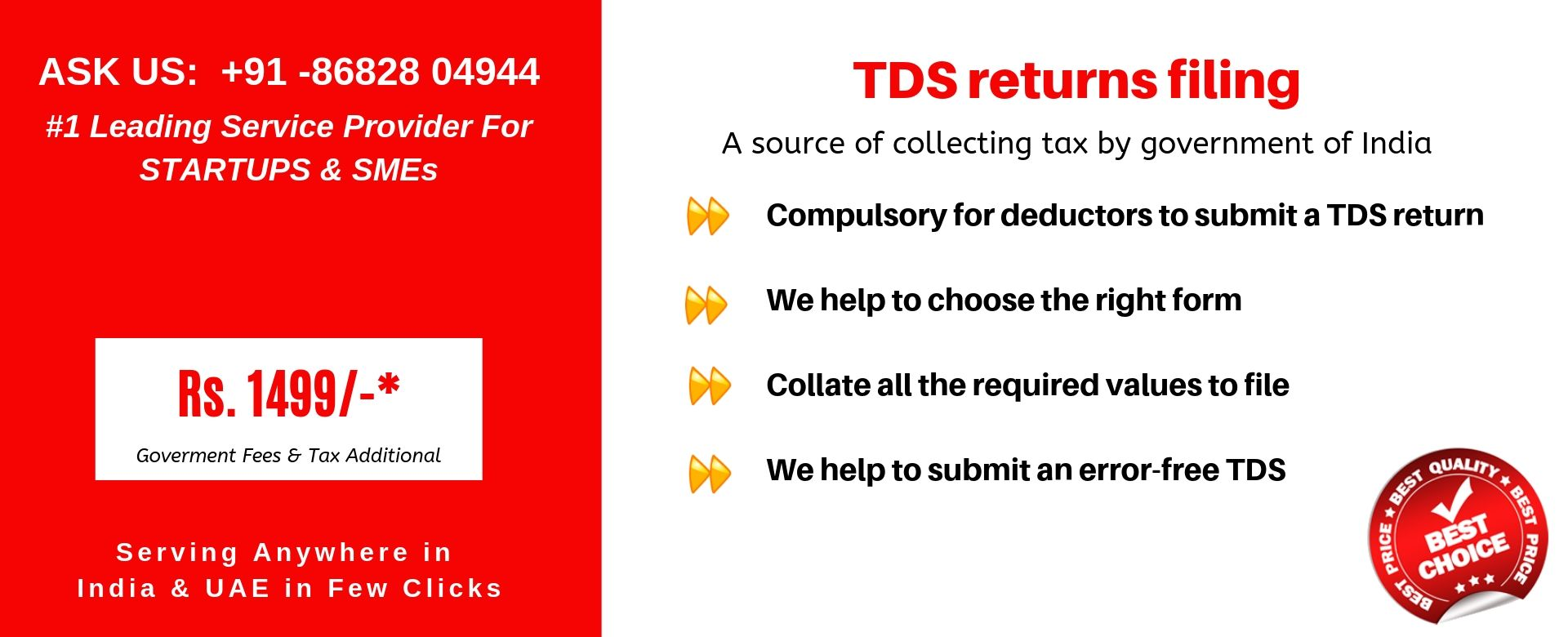 tds returns filing in india